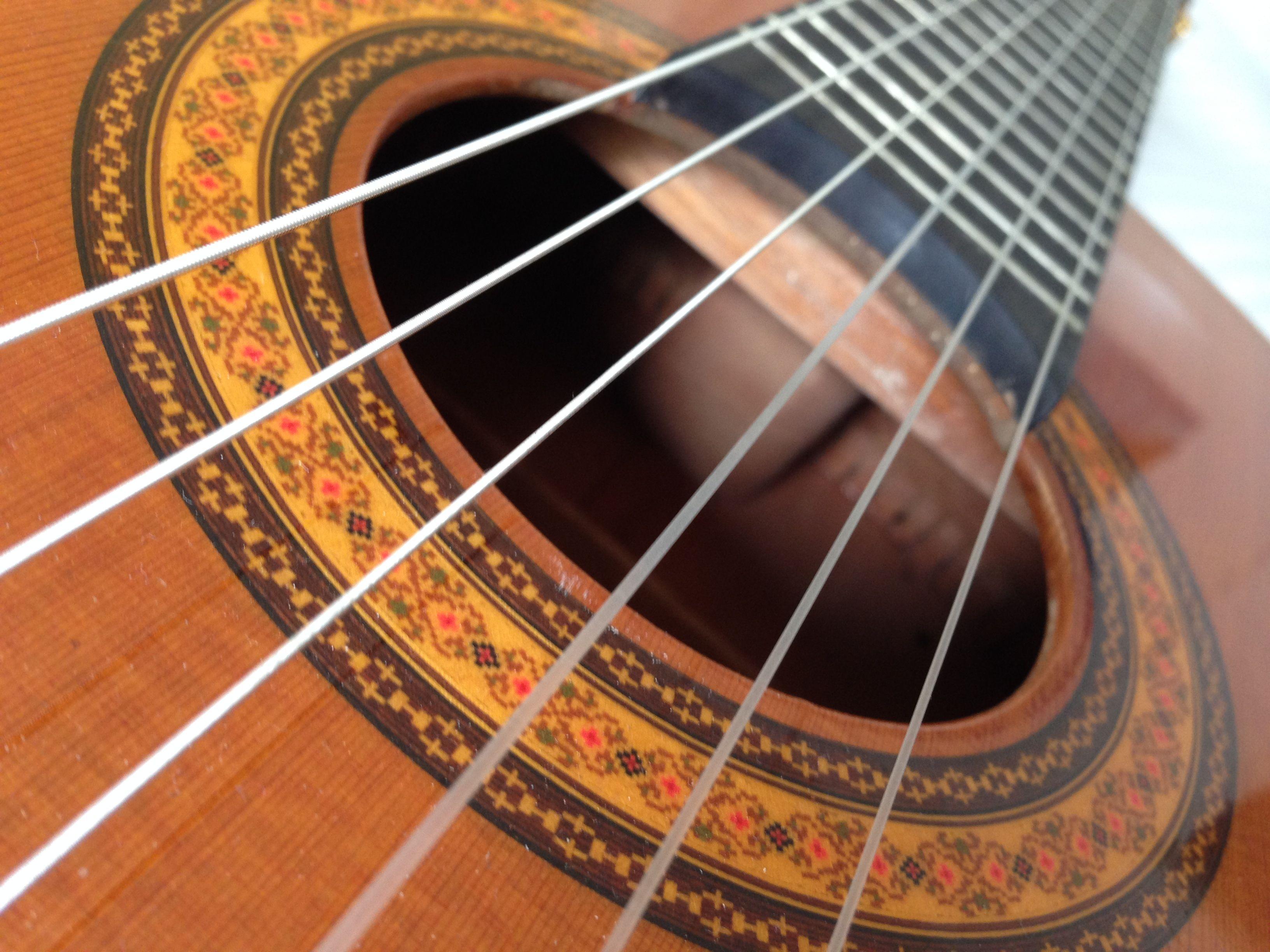 Imagem: foto do meu violão, tirada por mim mesmo...